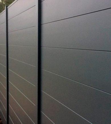 Claustra aluminium plein